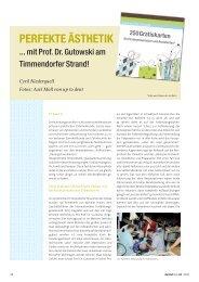 mit Prof. Dr. Gutowski am Timmendorfer Strand - zahniportal.de