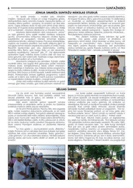 Suntažu pagasta laikraksts Suntažnieks, maijs/jūnijs - Ogres novads