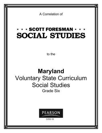 Scott Foresman Social Studies Lesson Planner