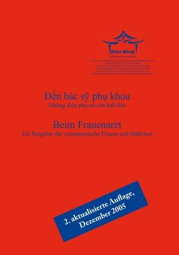 2. aktualisierte Auflage, Dezember 2005 - Gemeinsam unter einem ...