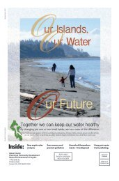 Together we can keep our water healthy - Island County Government