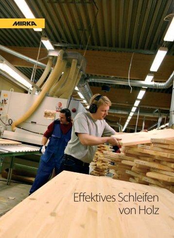 Mirka Effektives Schleifen von Holz