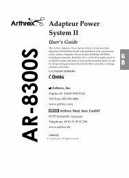 Arthrex AR-8300