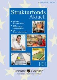 Strukturfonds in Sachsen - Freistaat Sachsen