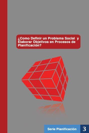 Como definir un Problema Social y Elaborar objetivos