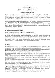 Fiche technique 2 - Ministère de la Culture et de la Communication