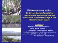 Part II - Western Indian Ocean Marine Science Association