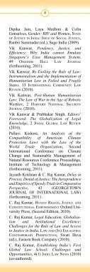 Faculty Publications - OP Jindal Global University - Page 6