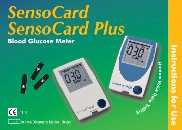 SensoCard SensoCard Plus - Point of Care Diagnostics
