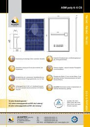 ASM poly 6-6 CS 235/240/245 - Activity Solar