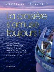 La croisière s'amuse - Magazine Sports et Loisirs