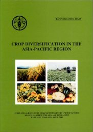 Crop Diversification in the Asia-Pacific region - United Nations in ...