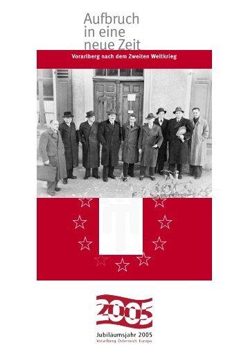Kalender Aufbruch in eine neue Zeit 2005 - Vorarlberg