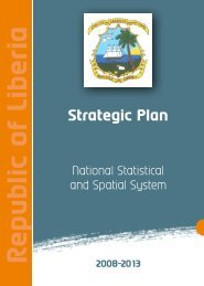 R e p u b lic o f Lib e ria Strategic Plan 2008-2013 - Paris21