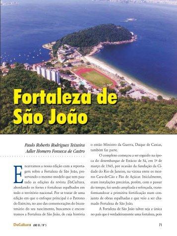 reportagem - Fortaleza de São João - FunCEB