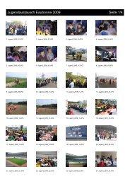 Jugendaustausch Eaubonne 2009 - FV 1919 Budenheim