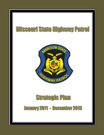 Highway Patrol Strategic Plan 2011-2013 - State Highway Patrol