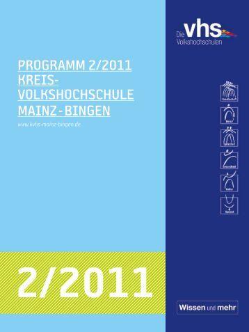 Download Programm 2011/2 - VHS Manager