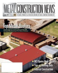 Top Metal Roofers - Ceco Building Systems