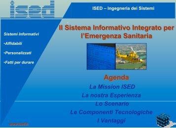 ISED – Ingegneria dei Sistemi