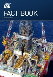 2012 Full year fact book PDF - Tullow Oil plc