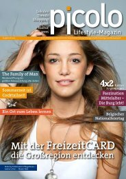 PICOLO - Ausgabe Juli 2013 - Media Consulting Pint