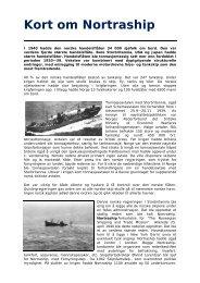 Kort om Nortraship - TVU-INFO