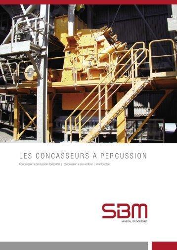 Assortiment concasseurs à percussion - SBM