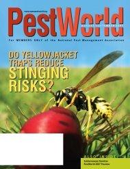 stinging risks? - National Pest Management Association