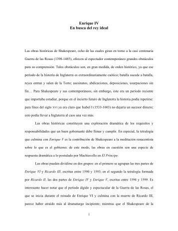 ENRIQUE IV - Luz Aurora Pimentel