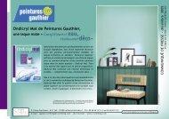 Ondicryl Mat de Peintures Gauthier,