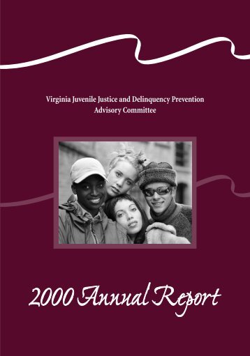 Virginia Juvenile Justice and Delinquency Prevention Advisory ...