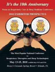 2010 exhibitor prospectus - Foocus