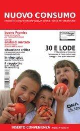 scarica la rivista del mese di settembre 2010 in ... - Nuovoconsumo.it