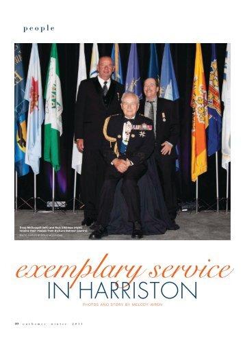 Exemplary Service in Harriston - Melody Wren