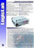 LogicLab s.r.l – Via della valle 67 – 20048 Carate Brianza (MI) – Tel ... - Page 2