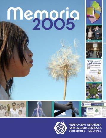 Memoria Anual FELEM 2005.