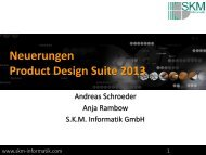 Product Design Suite - SKM Informatik GmbH