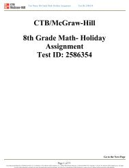 Holiday Assignment Test ID: 2586354 - Is34.org