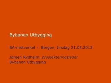 Bybanen Utbygging - BA-Nettverket