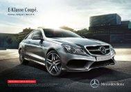 Download Preisliste neues E-Klasse Coupé gültig ... - Mercedes-Benz