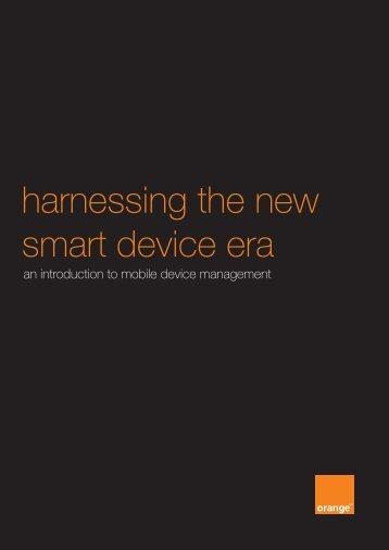 Mobile Device Management white paper - Orange