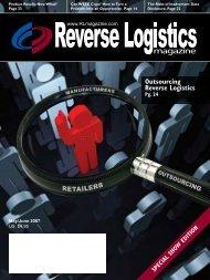 Outsourcing Reverse Logistics - Reverse Logistics Magazine