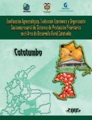 área de desarrollo rural catatumbo - Corpoica