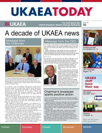 UKAEA Today Apr 08.pdf - Research Sites Restoration Ltd
