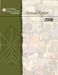 2008 Report - Carolina Farm Credit