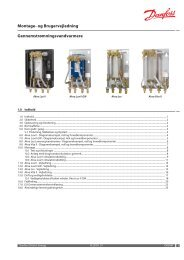 Gennemstrømningsvandvarmere - Danfoss Redan A/S