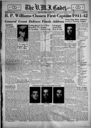 The Cadet. VMI Newspaper. June 11, 1941 - New Page 1 [www2 ...