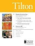 THE ALUMNI MAGAZINE OF TILTON SCHOOL SPRING 2007 - Page 3