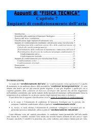 Impianti di condizionamento dell'aria - Documento senza titolo